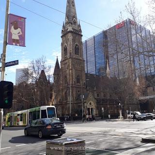 Jalan di Melbourne Australia