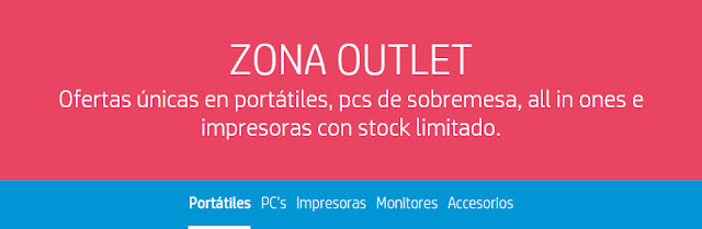 Top 5 ofertas Zona Outlet de la HP Store