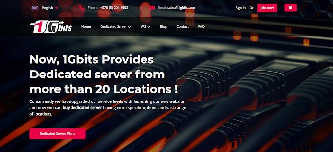 1GBITS Review: Best Dedicated Server Hosting