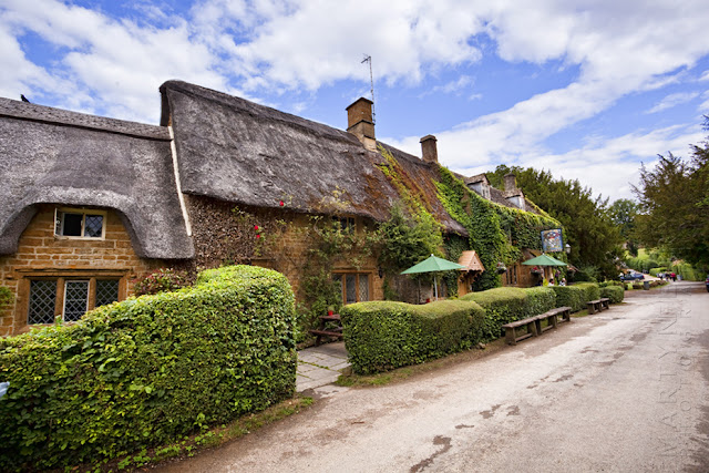 The Falkland Arms at Great Tew in the Cotswolds by Martyn Ferry Photography