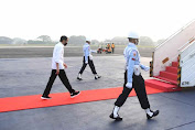 Jokowi Lakukan Kunjungan Kerja ke Kaltim Tinjau Vaksinasi dan Resmikan Tol