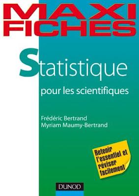 Télécharger Livre Gratuit Maxi fiches de Statistique pour les scientifiques pdf