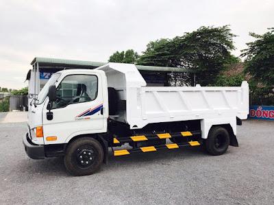 Xe ben Hyundai HD650 6 tấn