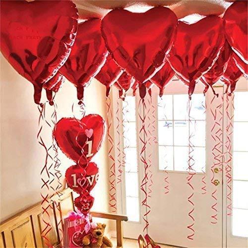 mylar heart balloons