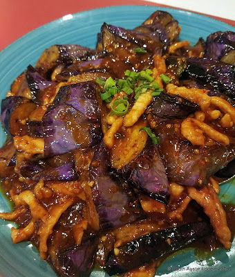 Sichuan River eggplant in garlic sauce