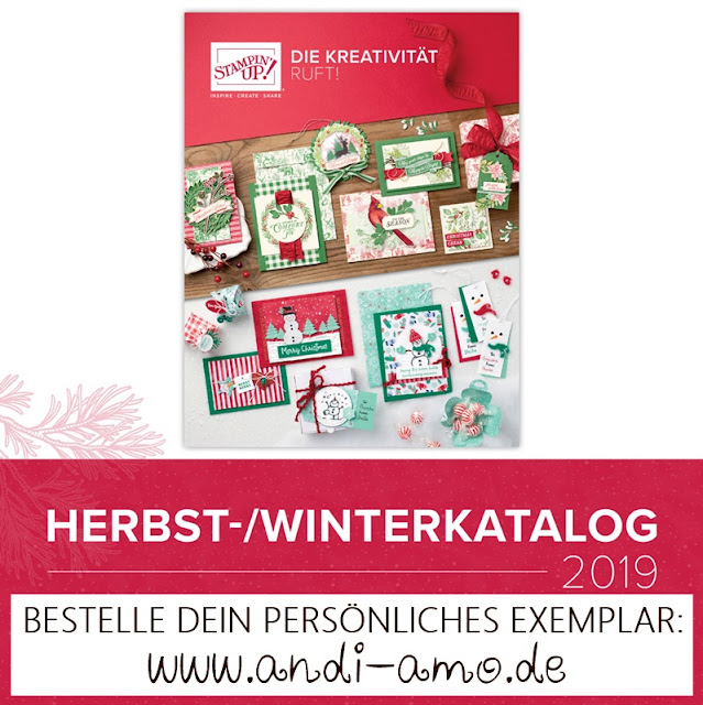 Stampin Up Herbst-Winter-Katalog 2019 bestellen