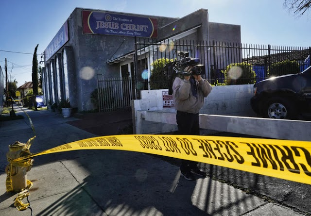 Federal agents raids against allege marriage, immigration fraud at Los Angeles church