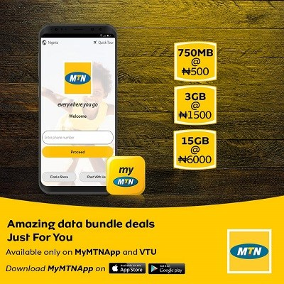 [BangHitz] MTN Introduce New Cheap Data Plans + Free 4GB Data.