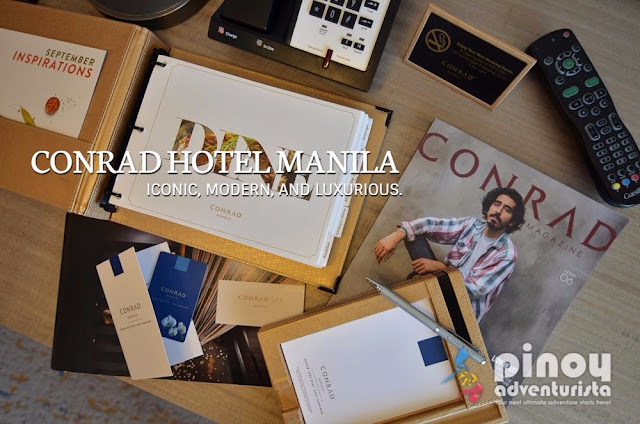 Conrad Hotel Manila Blog Reviews