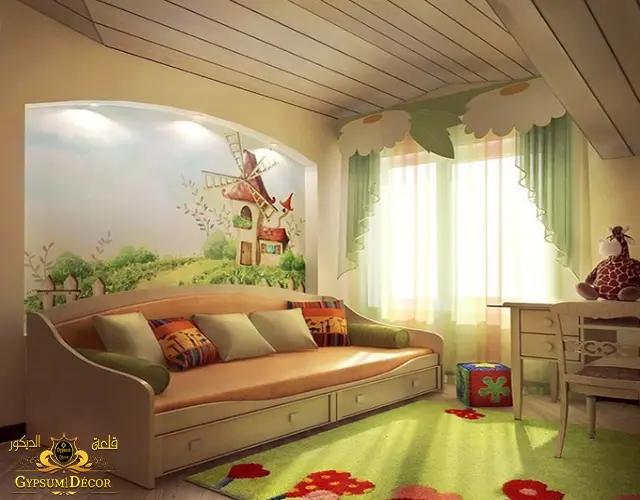 اجمل الوان غرف اطفال 2022