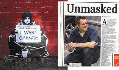 Robin Gunningham Banksy
