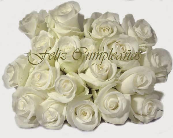 Tarjetas de Cumpleaños para Mujeres con Flores, parte 4