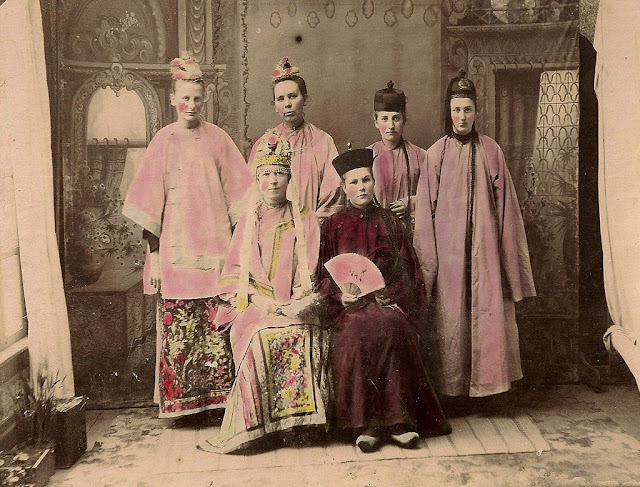 Chinese wedding in Hubbard, Oregon, March 29, 1897