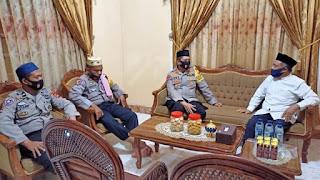 Kapolres Bone Silaturahim Dengan Ketua Muhammadiyah Bone