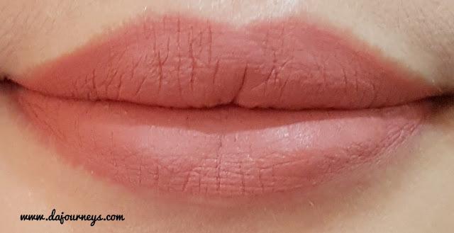 [Review] Face2Face Cosmetics Xoxo Lipstick Matte Peanut Butter