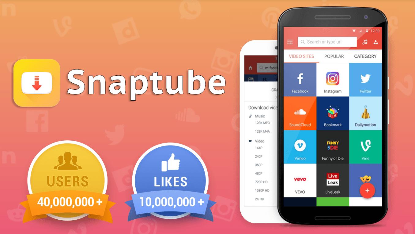 Snaptube Video Downloader Download Youtube Facebook For Free