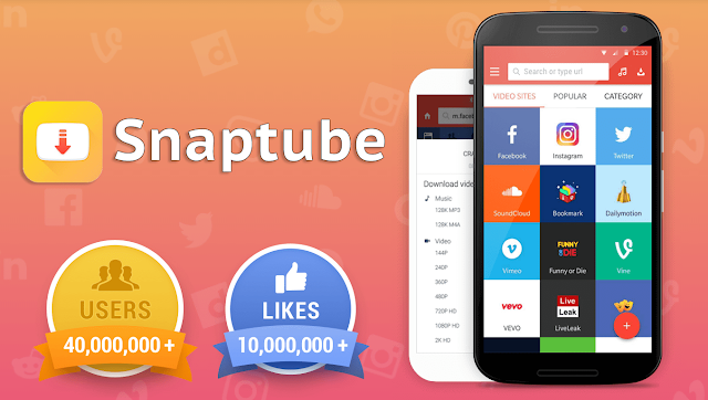 SnapTube Video Downloader 2019