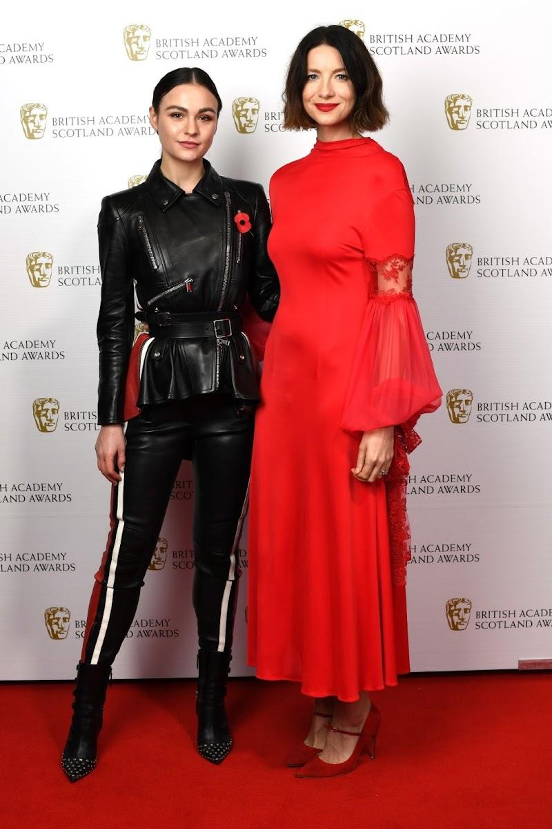 Sophie Skelton Clickled At Bafta Scotland Awards In Glasgow 03 Nov 2019
