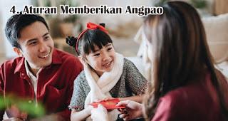 Aturan Memberikan Angpao merupakan salah satu fakta menarik angpao yang wajib kamu ketahui