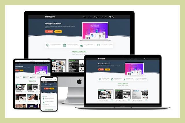 Goomify Premium Blogger Template Download