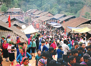The year - end fair in Ha Giang
