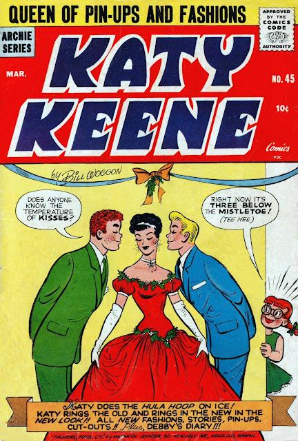 strip Katy keene comic