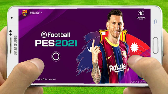 PES 2021 Mobile Patch V4.6.1 Android Best Graphics New Menu Original Logo and Kits 2021