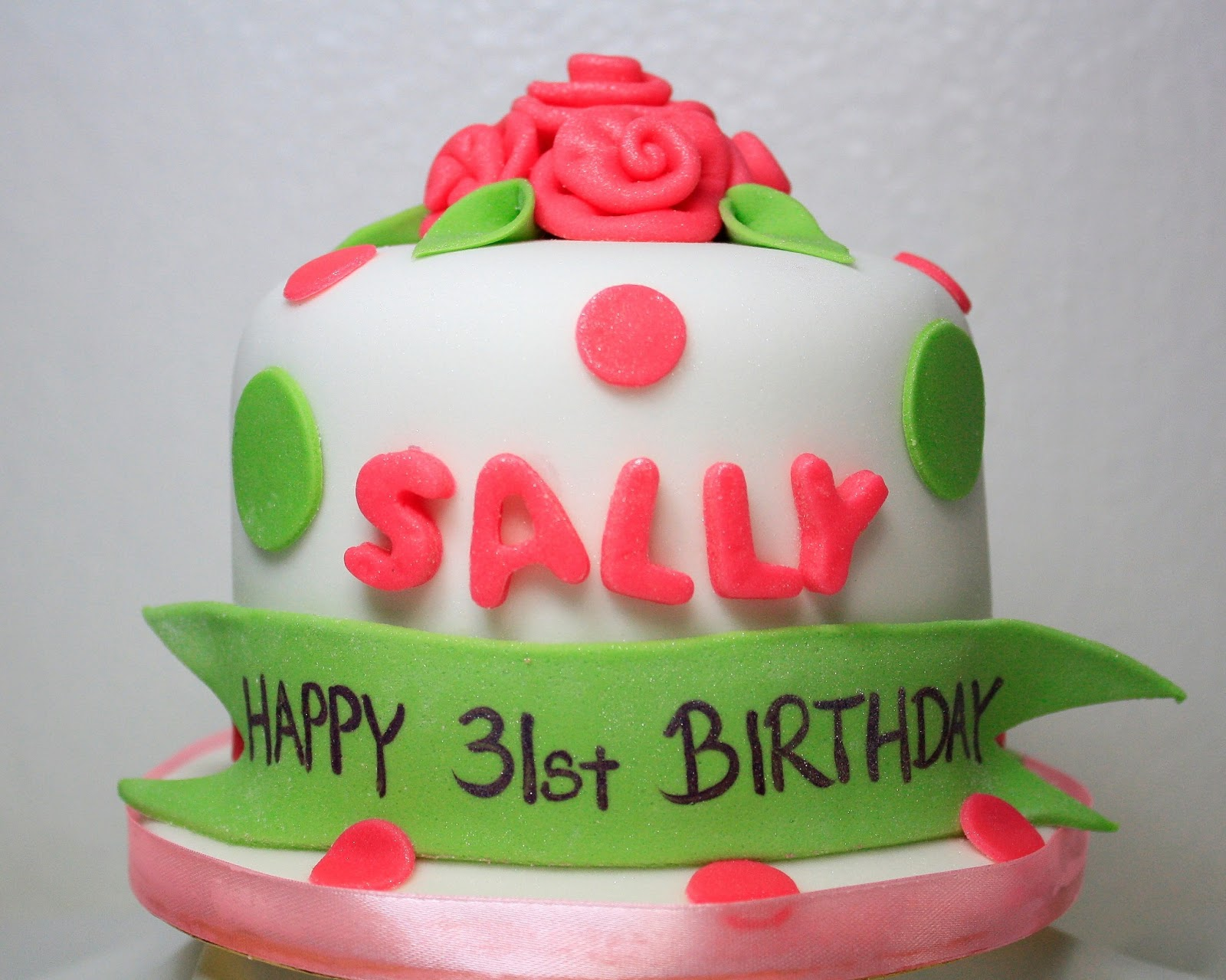 Dalice Cakes Boutique 31st Birthday Sally