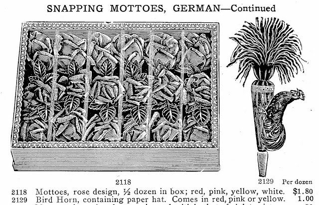 1907 Snapping Mottoes, German, illustrated