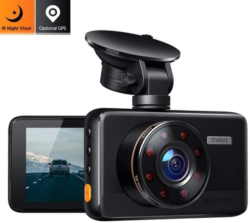 Review APEMAN C660 FHD Dash Cam with IR Night Vision