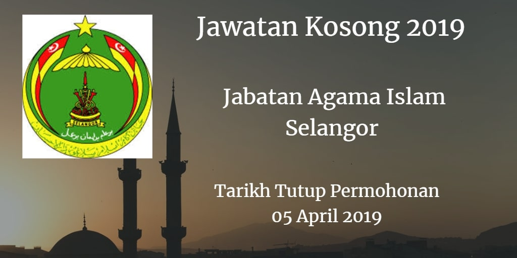Jawatan Kosong JAIS 05 April 2019