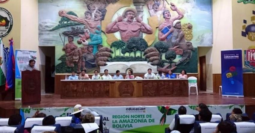 Bolivia, Perú y Brasil sientan las bases para un trabajo conjunto en educación alternativa y especial en el «I Encuentro Internacional de Educación Alternativa y Especial, Región Norte de la Amazonía de Bolivia»
