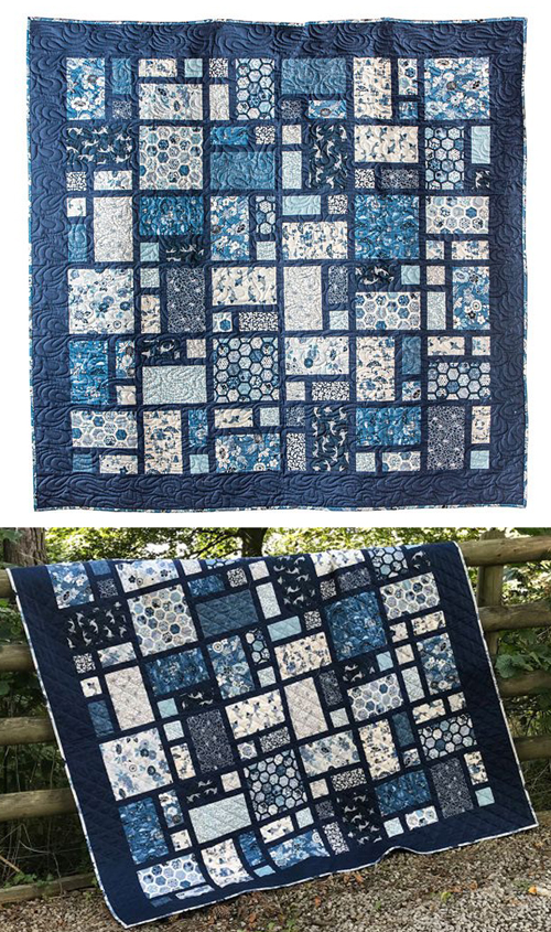 Indigo Quilt - Free Pattern