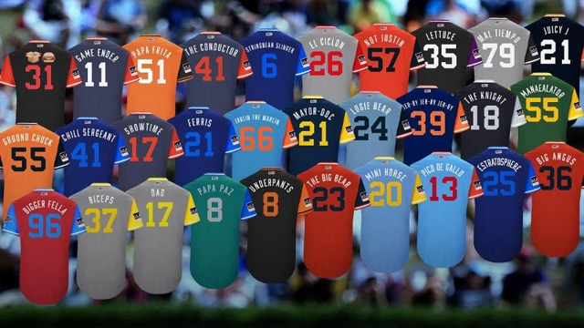 Conozca los apodos que lucirán los peloteros dominicanos en sus espaldas este fin de semana para el Players' Weekend 2018