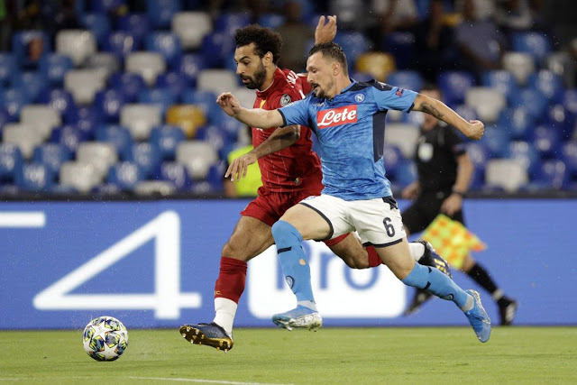 Napoli vs Liverpool 2-0
