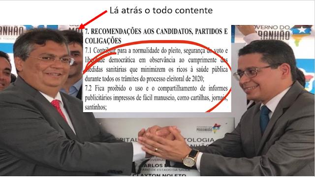 Governo do MA usa Secretaria de Saúde para intimidar candidatos às eleições 2020
