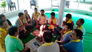 पतंजलि योग परिवार नें हवन-यज्ञ के साथ मनाया गुरु पूर्णिमा | #NayaSaberaNetwork