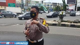 Presiden RI Akan Ke semarang Besok, Satlantas Polrestabes Semarang Cek Kesiapan Jalur Lalu Lintas