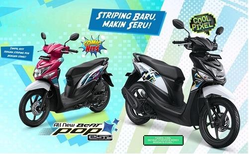 Harga dan Spesifikasi Honda Beat Pop