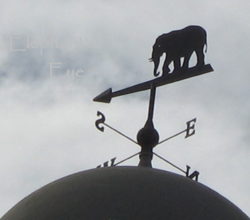 Elephant on weathervane in London!
