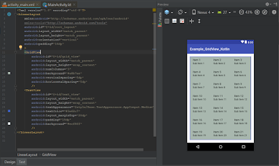 Android Studio - GridView Kotlin