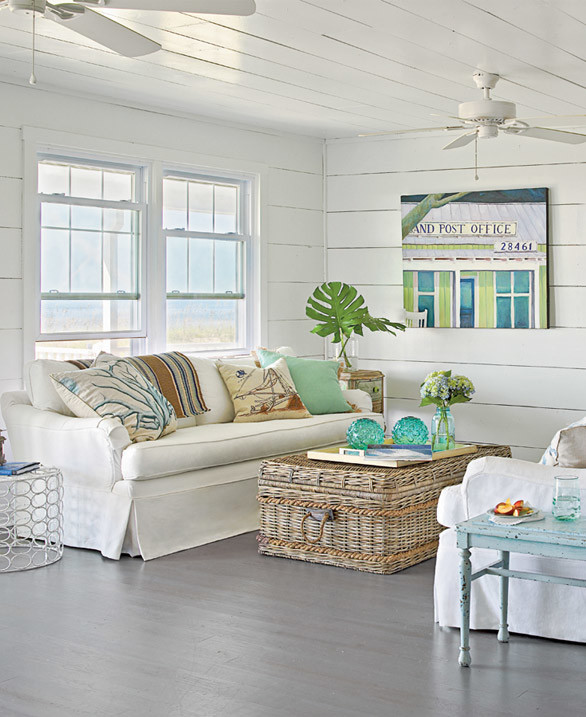 CHIC COASTAL LIVING: Beach Cottage Tour