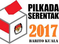 Hasil Hitung Cepat/Quick Count Terbaru Pilkada Barito Kuala 2017