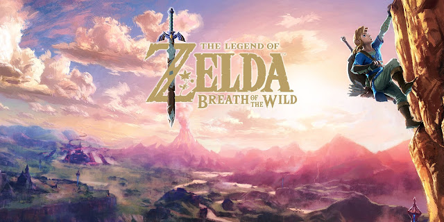 اللعبة الاولى :  The Legend of Zelda: Breath of the Wild