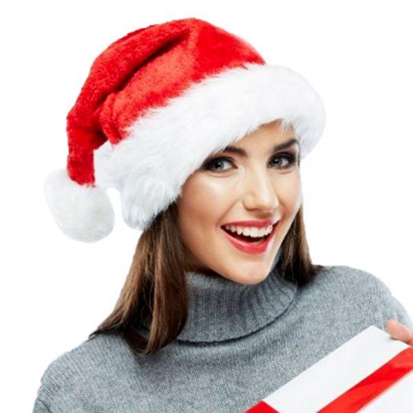 ruperhat.com, ruperhat, Christmas Hats Caps Santa Claus Xmas Cotton Cap