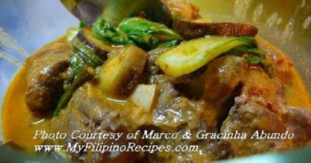 Filipino Kare Kare Recipe