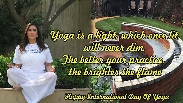 Happy International Day Of Yoga June 21
