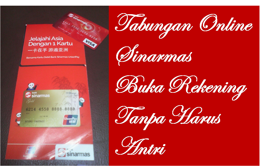 Image result for buka tabungan online bank sinarmas