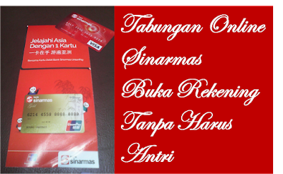 Image result for buka rekening online bank sinarmas