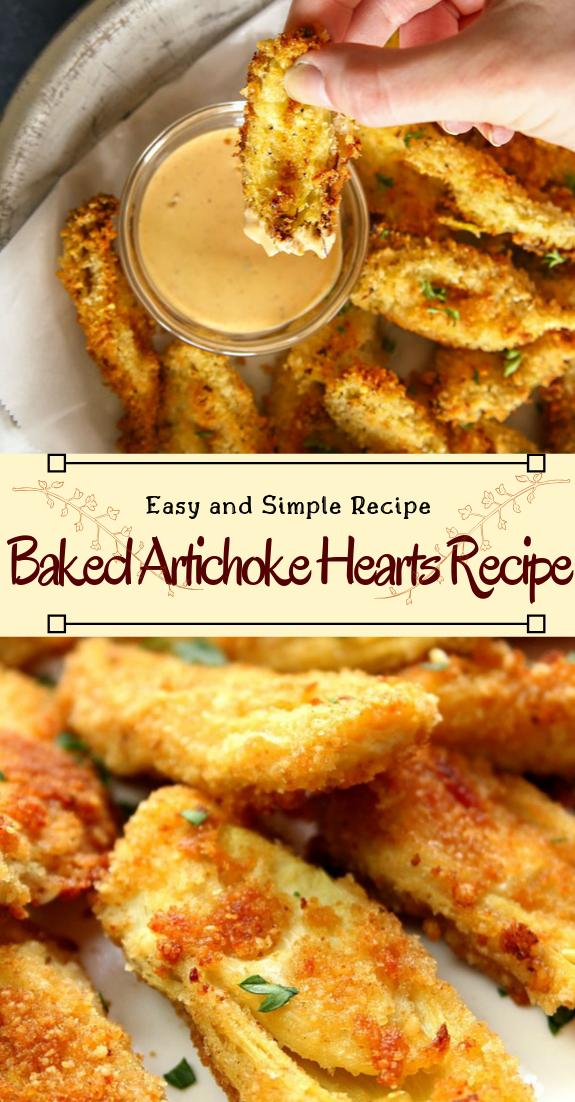 Baked Artichoke Hearts Recipe #vegan #vegetarian #soup #breakfast #lunch
